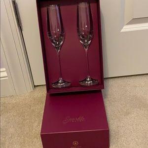 Other - Sparkle by Barski champagne flutes